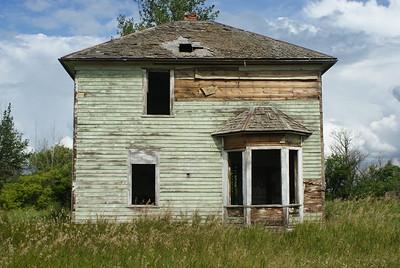 Old Deserted Farmhouse, Alberta, Canada