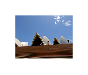 Sydney Opera House Stairs, 2006