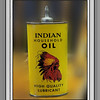 Historical Indian Oil Can, Rictographs Images