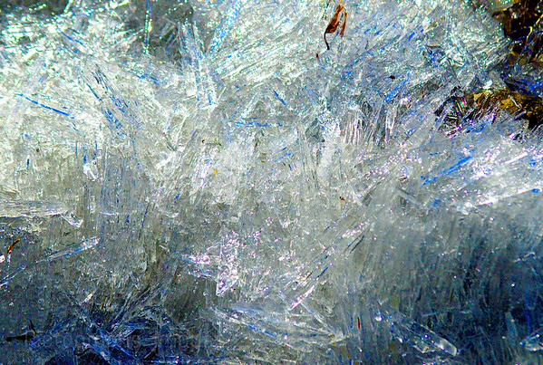 Frozen Shattered Ice