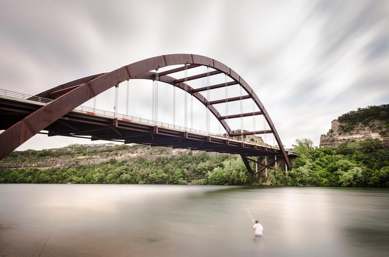 Fishing By Penntbacker Bridge