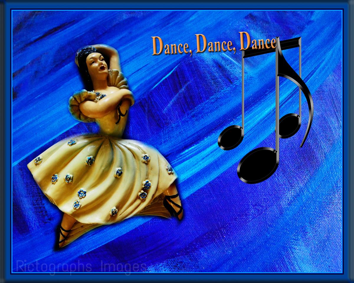 Sculpture; Dancer Dancing Art