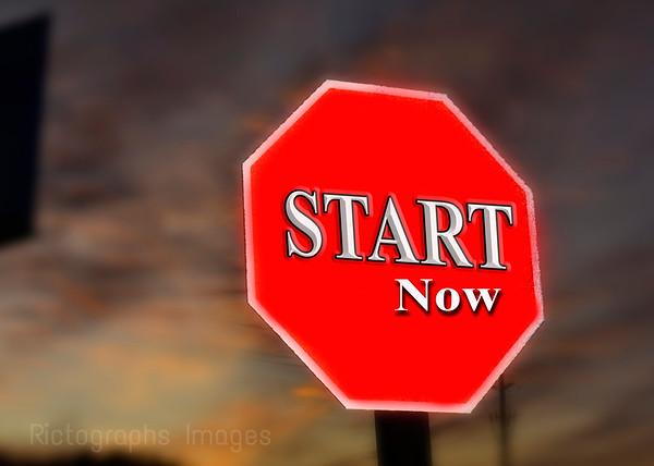Art Start Sign