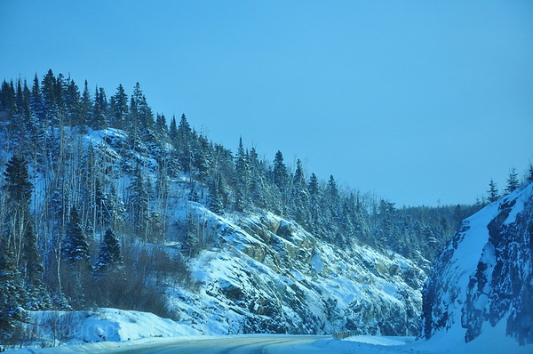 Winter, Trans Canada Highway