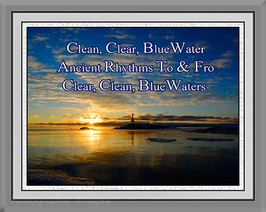 #A Poetic Haiku, LakeSuperior, Landscape Photography Rictographs Images Sized to Print 8 X 10in