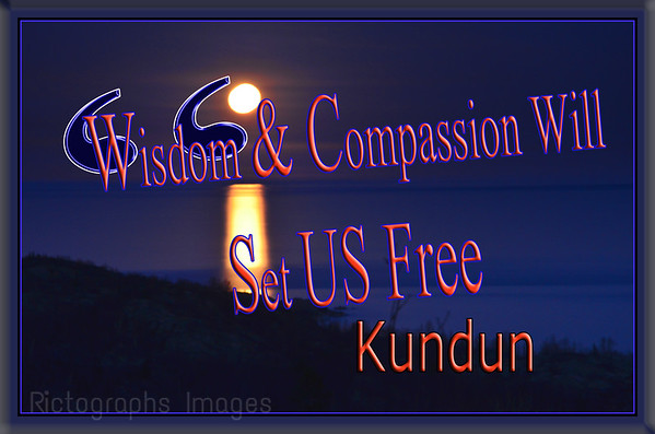 Quote, Wisdom & Compassion Will Set Us Free