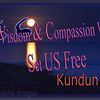 Dali Lama, Kundun, Quote, Wisdom & Compassion Will Set Us Free