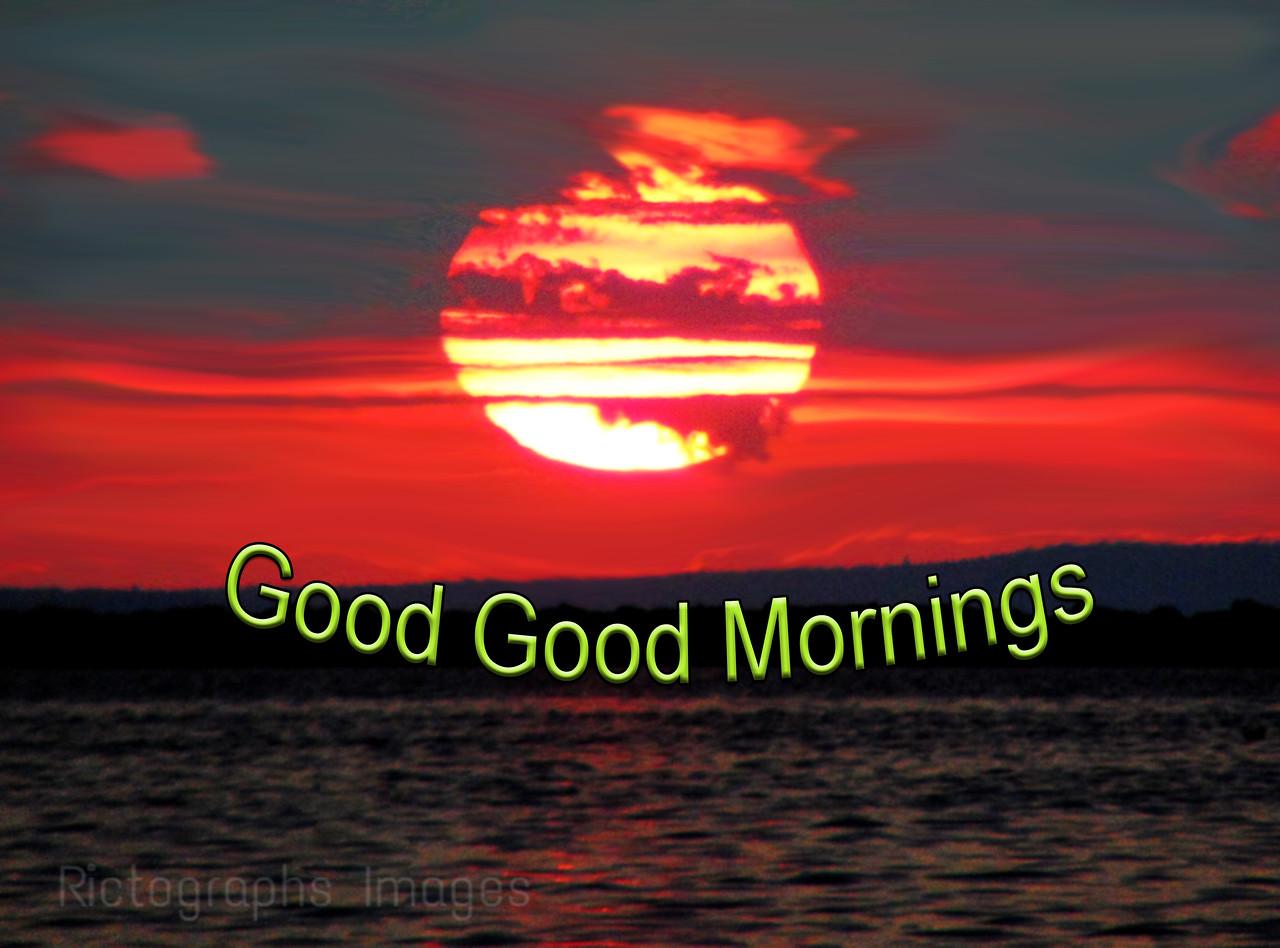 Sunrise, Lake Superior, Good Good Mornings