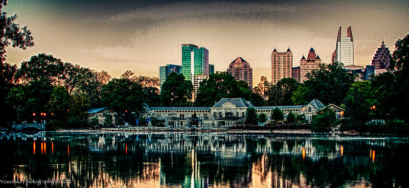 Piedmont Park Swim club. Atlanta GA