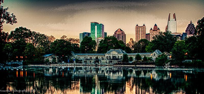 Piedmont Park Swim club. Atlanta GA