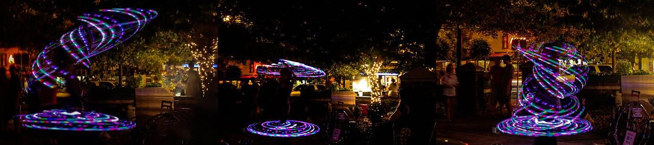 Asheville lights all together.