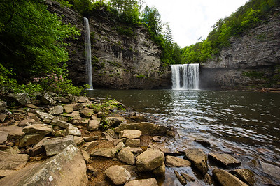 Rockhouse Falls and Cane Creek Falls, Tennessee