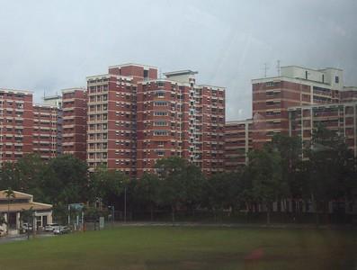 "Apartment Houses ""Pigeonholes"" Singapore"