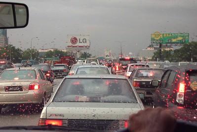 Traffic Jam in Malaysia