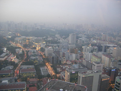Skyline of Singpore