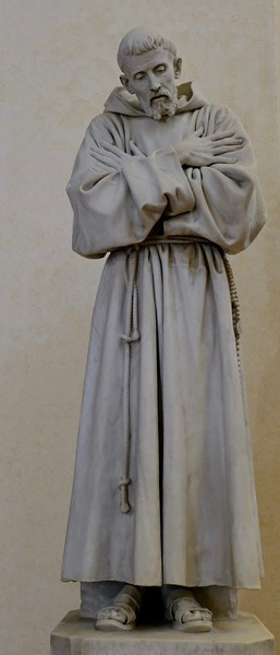 Statue of Saint Francis, Cathedral of San Rufino, Assisi