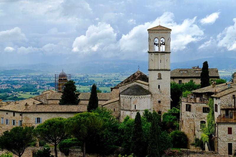 Abbazia di San Pietro, Assisi