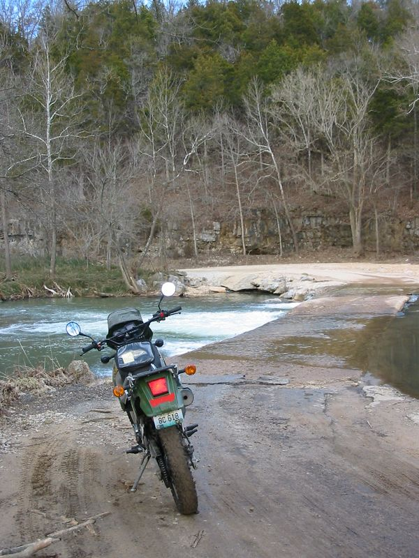 The Little Piney crossing on CR 7460