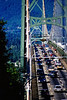 Lion's Gate Bridge, Vancouver, BC Canada, early 1990's.