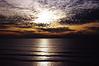 San Diego, California sunset.