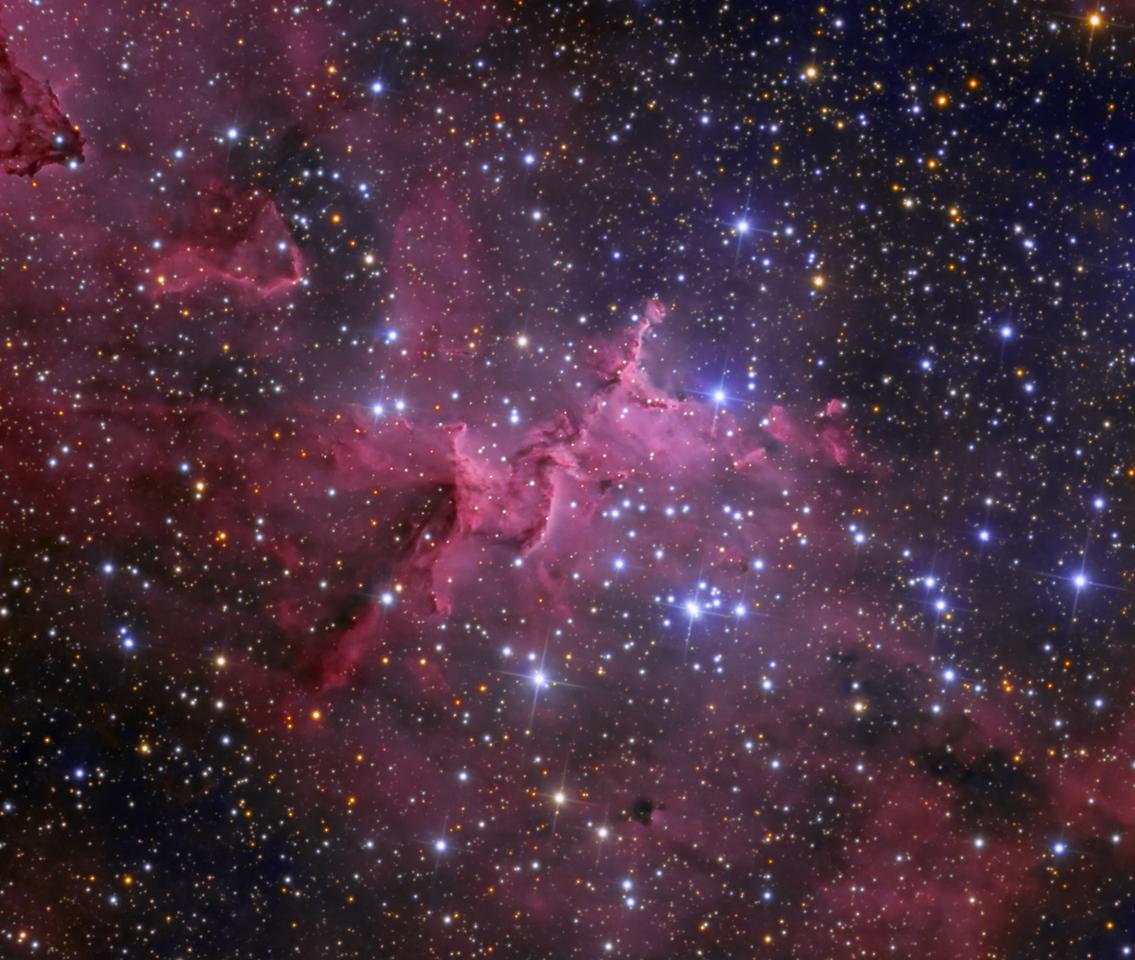 Melotte 15 in the Heart Nebula