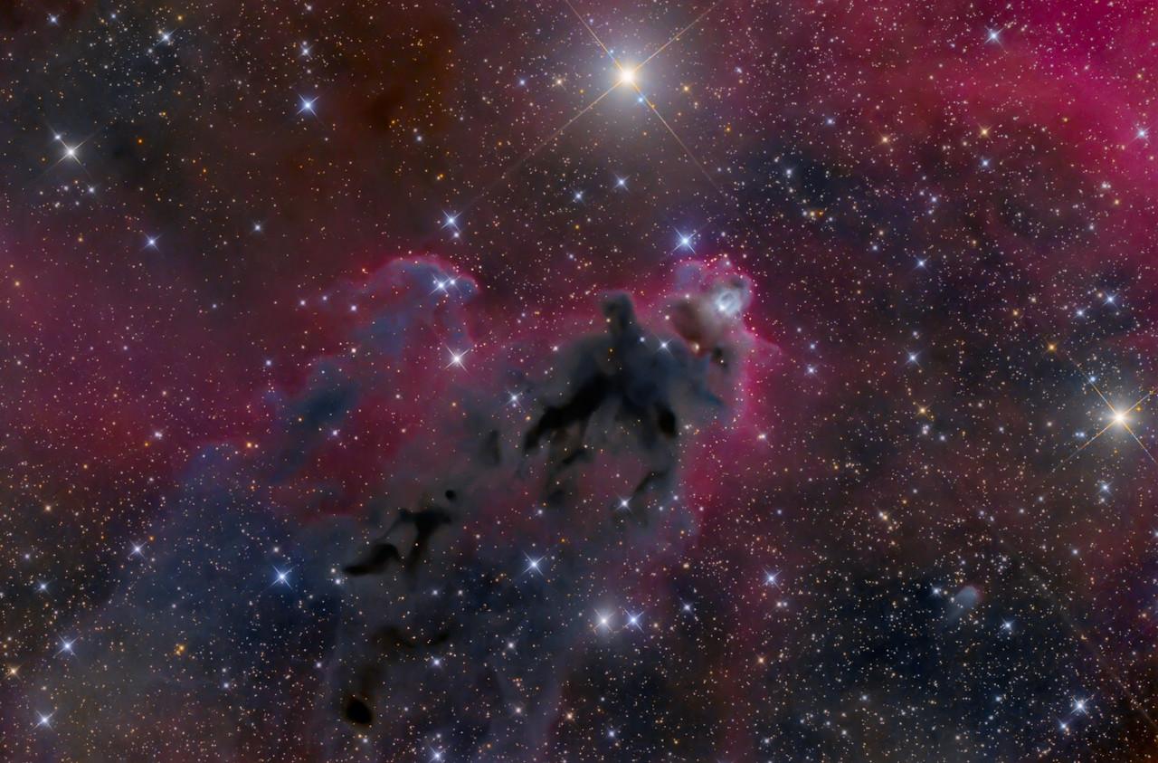 LDN 1622 in Orion.   119X300sec ASA N10 F3.59 Paramount MX FLI Microline 11002 OSC Dec 2012 NMSkies PI, PS5
