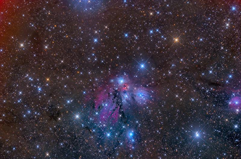 NGC 2170 29X1200 -40C ASA N10 F3.59 FLI Microline 11002 OSC Jan 4,5 2013 NMSkies Remote