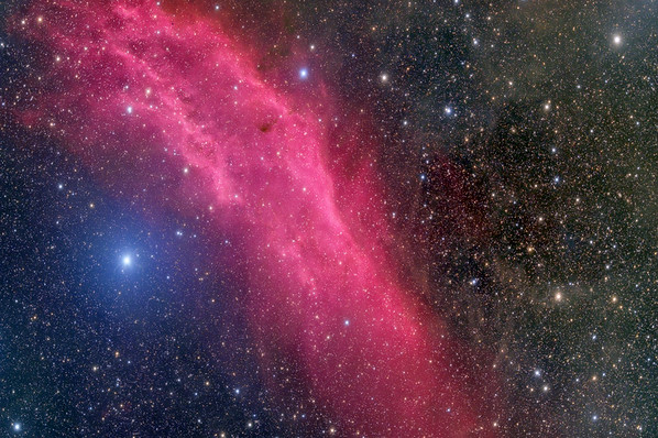 California Nebula NGC 1499 from NMSkies and Celestron RASA