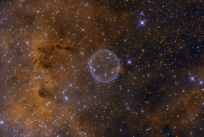 The Soap Bubble Nebula