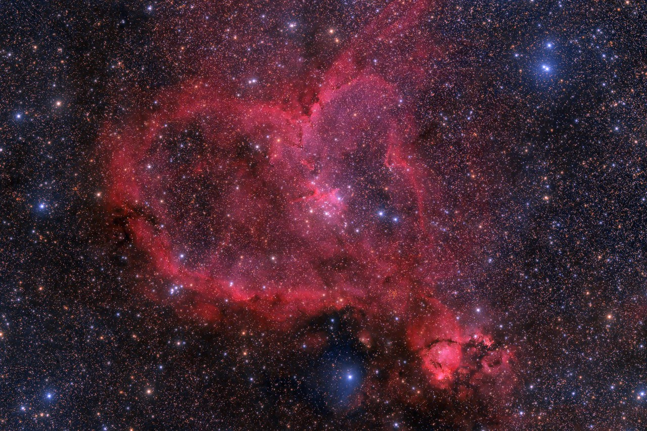 IC 1805 The Heart Nebula