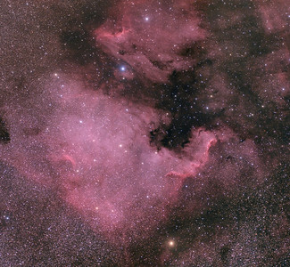 North American Pelican Nebulas