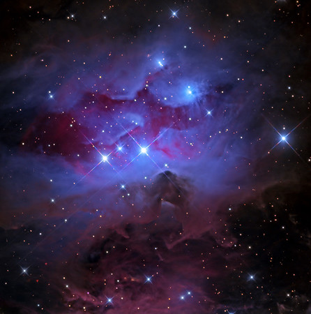 NGC 1977 The Running Man Nebula