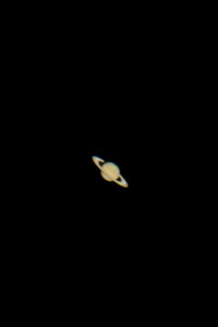 An imaging scope would really bring out the details in Saturn...but not to shabby...
