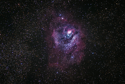 Crop of the Lagoon Nebula