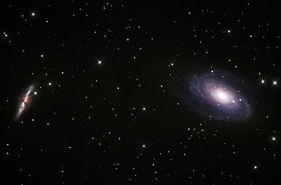 Bodes and Cigar Galaxies