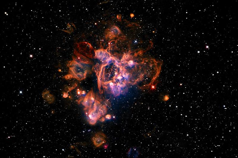NGC1935 Nebula in the LMC