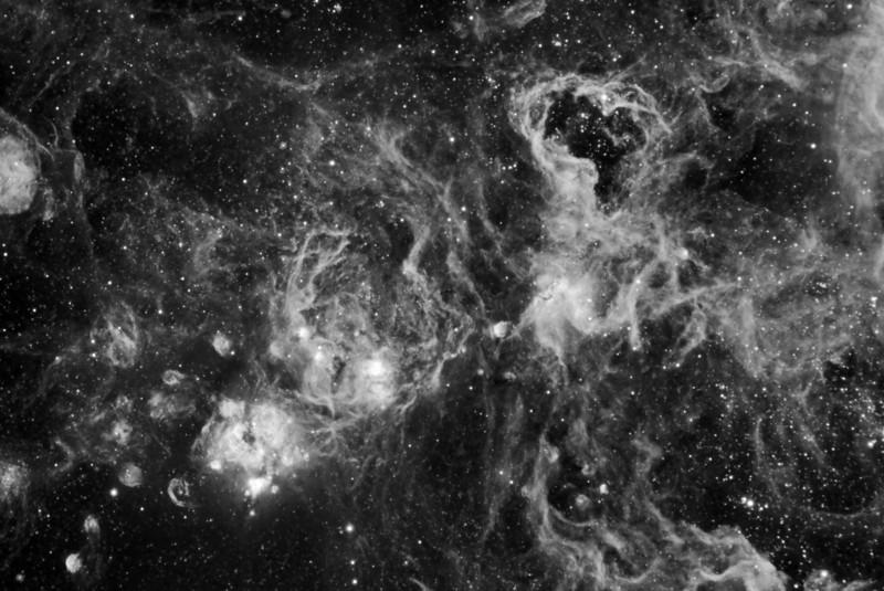 Nebula NGC2074 in Ha