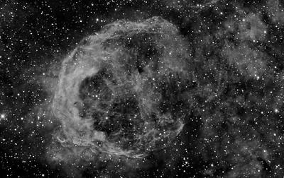 Deep Nebula NGC3199 in Narrow band 3nm Ha