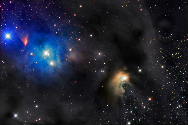 CED111 Blue reflection Nebula in Constellation Chamaeleon (Cha)
