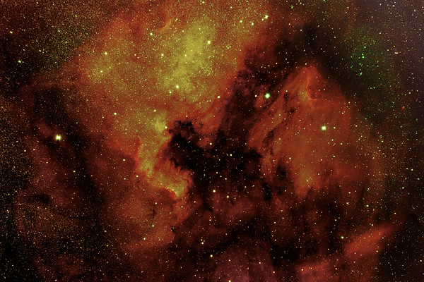North America Nebula (NGC7000 )