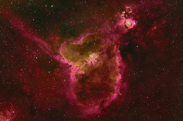 Heart Nebula (IC 1805)
