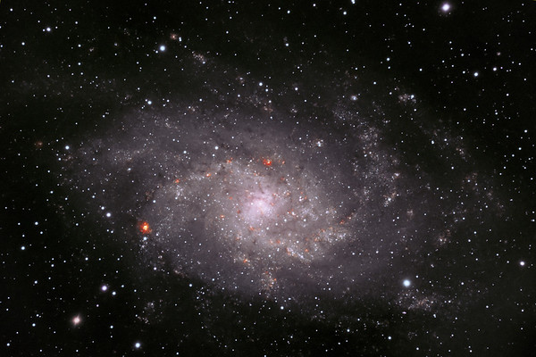 Pinwheel Galaxy (M33) in Triangulum