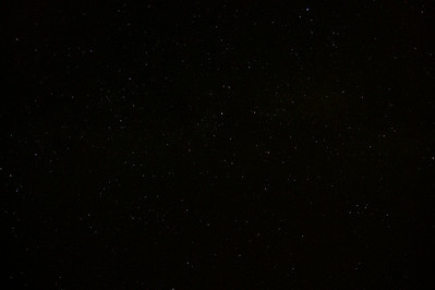 My favourite astro-pic so far. The disc of the Milky Way stretches from left to right, about halfway down the pic.