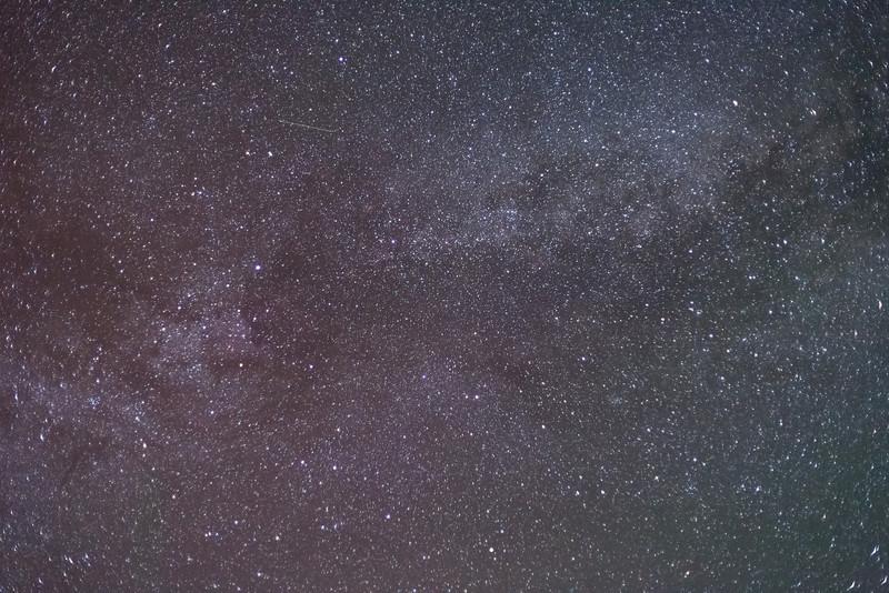 Peering into the Milky Way
