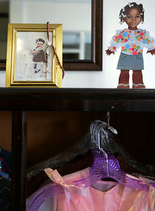 A thrift shop is opening in honor of Najia Boone, 8, who was killed in 2009. KRISTIN BAUER   CHRONICLE