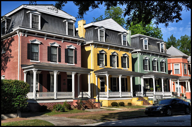 The Painted Ladies of Augusta, Ga.