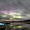 Aurora at Quartz Lake  Alaska