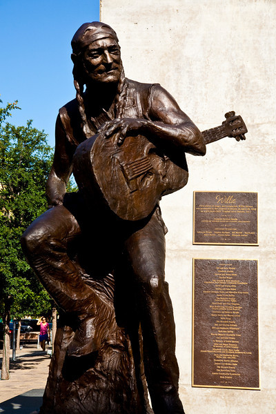 """Willie Nelson Statue Austin, Texas<br /> <br /> Purchase Prints, Framed Prints, Canvas Prints, Metal Prints, and on a Acrylic as well through this link -<br /> <a href=""""http://fineartamerica.com/featured/statue-of-willie-nelson-side-view-mark-weaver.html"""">http://fineartamerica.com/featured/statue-of-willie-nelson-side-view-mark-weaver.html</a>"""
