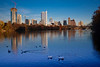 """Austin Skyline and Lady Bird Lake<br /> <br /> Purchase Prints, Framed Prints, Canvas Prints, Metal Prints, and on a Acrylic as well through this link - <br /> <a href=""""http://fineartamerica.com/featured/austin-skyline-early-evening-mark-weaver.html?newartwork=true"""">http://fineartamerica.com/featured/austin-skyline-early-evening-mark-weaver.html?newartwork=true</a>"""