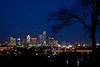 Austin Skyline from Stratford Dr.  Austin, Texas